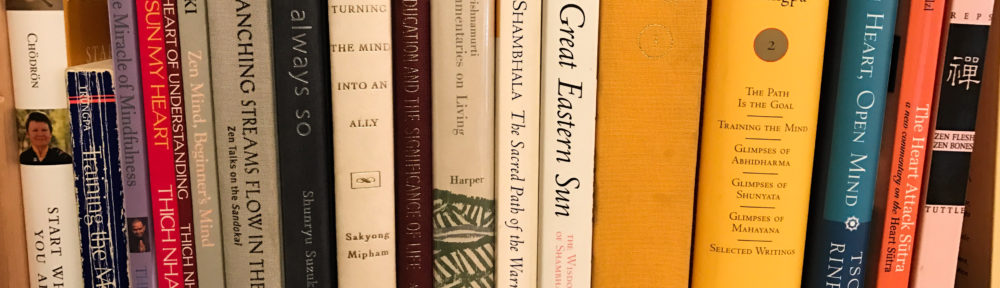 Meditation Bookshelf